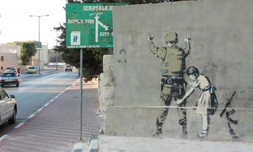 Bethlehem Banksy 2010